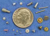 Cold Formed Miniature Fastener Samples